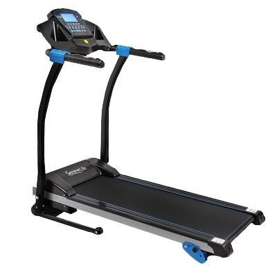 SereneLife SLFTRD25 Bluetooth Smart Digital Folding Treadmill Cardio Machine Home Gym Fitness Equipment with Incline, MP3 Player and Built In Speakers