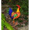 "20""H Metal Outdoor Rooster Sculpture - Backyard Expressions - image 2 of 2"