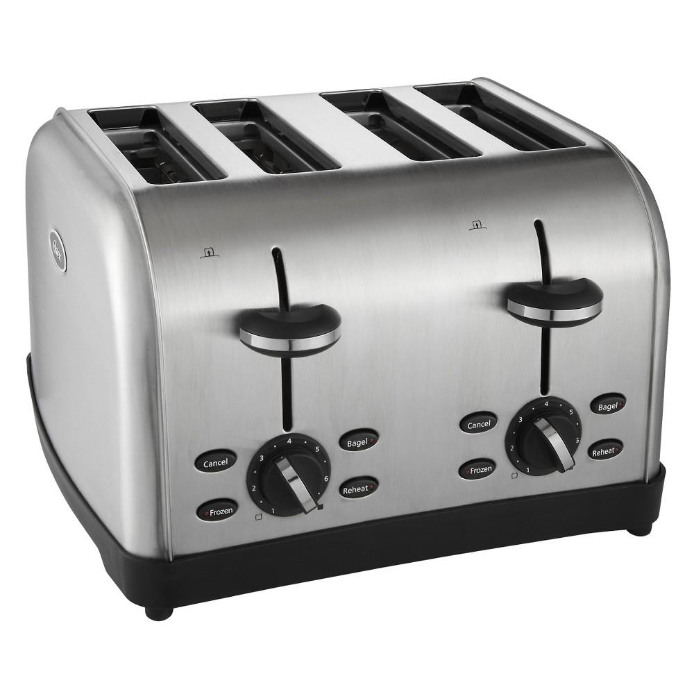 Oster 4 Slice Stainless Steel Toaster, TSSTRTWF4S 14024624