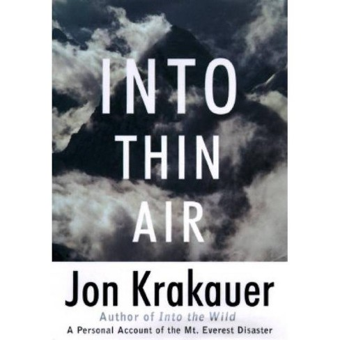 Into Thin Air - (Modern Library Exploration)by  Jon Krakauer (Hardcover) - image 1 of 1