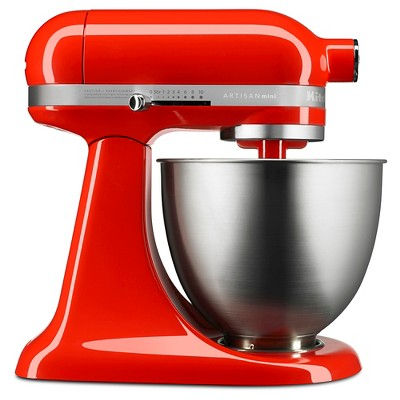 KitchenAid Artisan Mini 3.5qt Tilt-Head Stand Mixer - KSM3311XHT