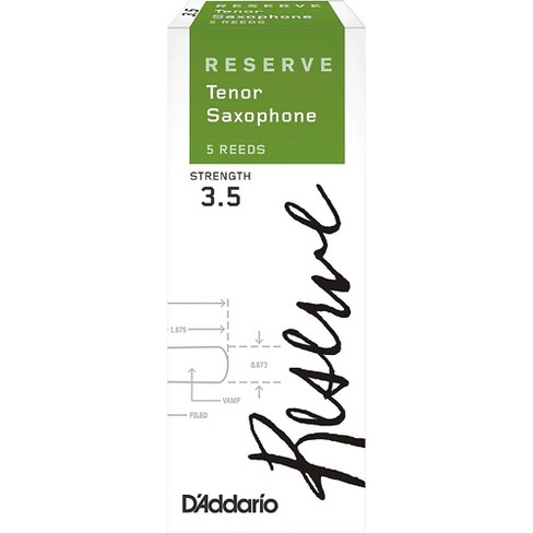D'Addario Woodwinds Reserve Tenor Saxophone Reeds 5-Pack - image 1 of 4