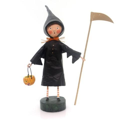 Lori Mitchell Grim Halloween Witch Pumpkin - image 1 of 2