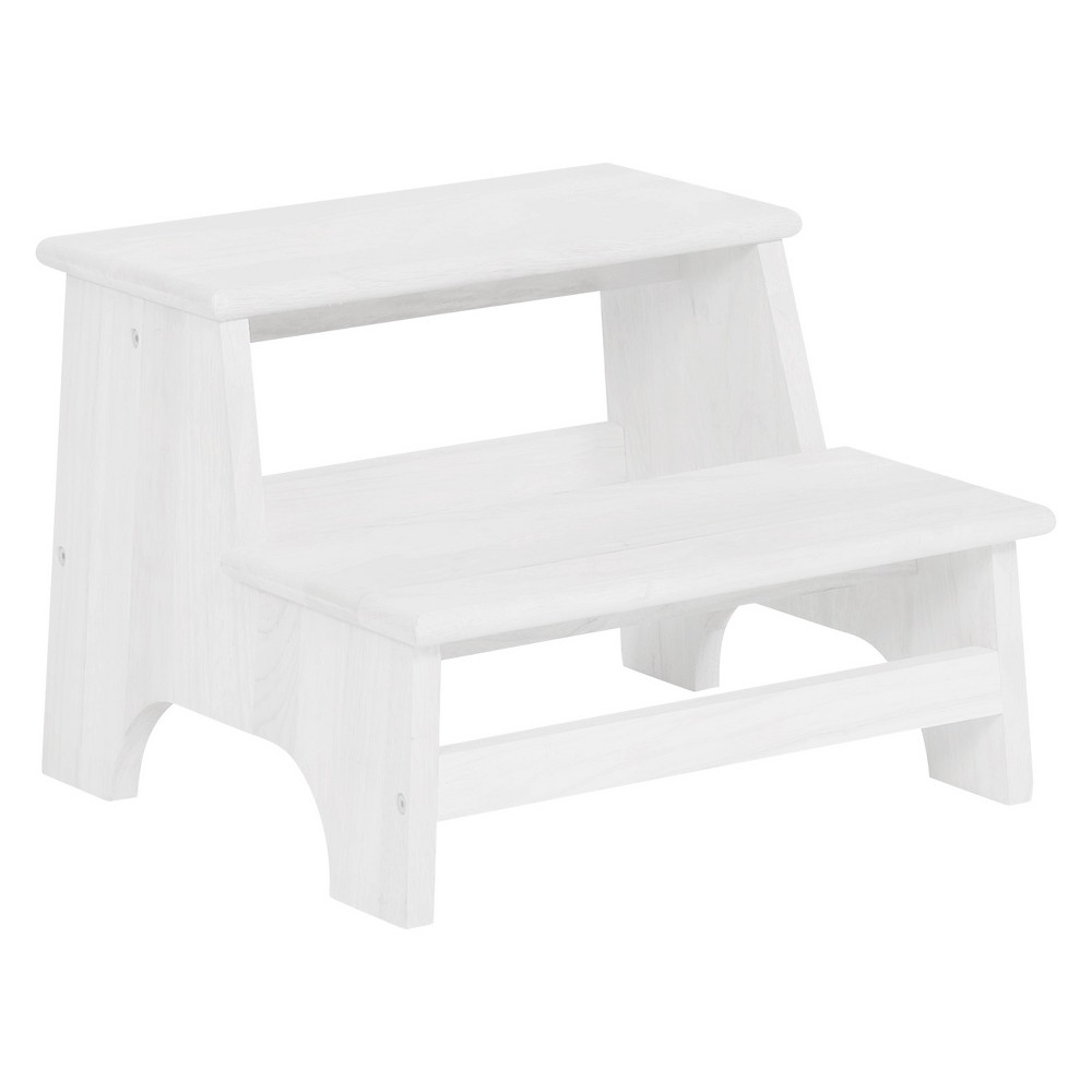 Tyler Bed Step White - Powell Company