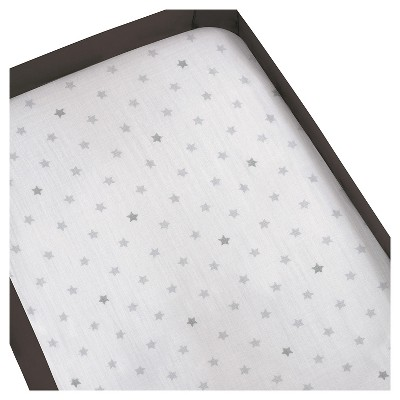 Aden® by Aden + Anais® Playard Crib Sheet - Dove