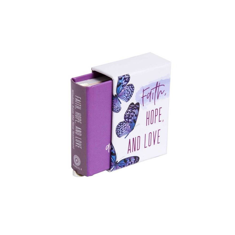 Faith Hope And Love Tiny Book By Insight Editions Hardcover