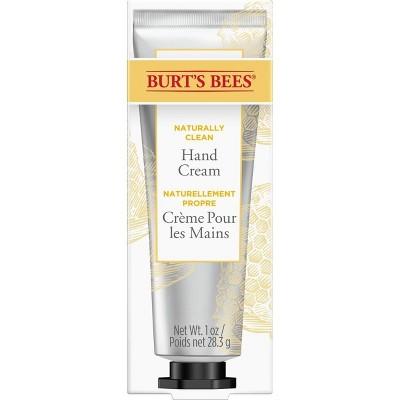 Burt's Bees Naturally Clean Honey Hand Cream - 1oz
