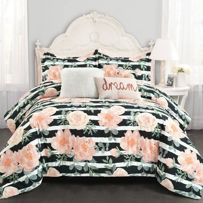 Amara Watercolor Comforter - Lush Décor
