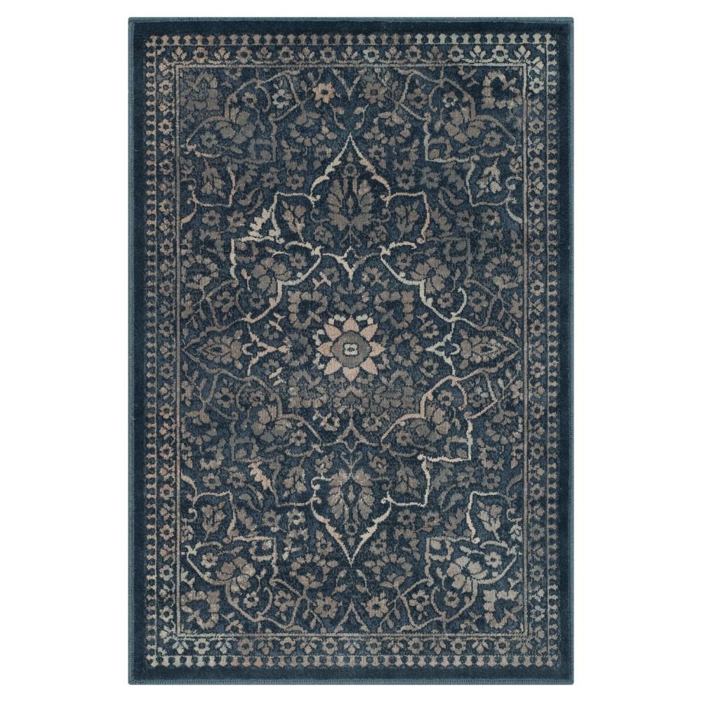 Vintage Rug - Blue/Light Gray - (2'x3') - Safavieh