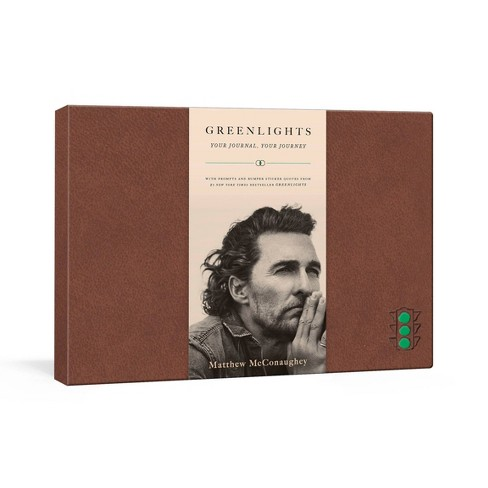 Greenlights: Your Journal, Your Journey - by Matthew McConaughey (Hardcover) - image 1 of 1
