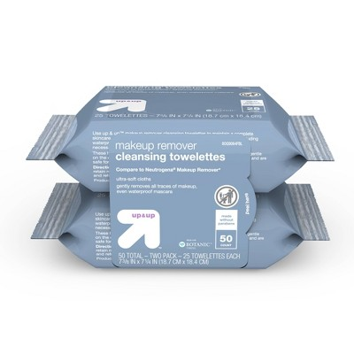 Basic Facial Cleansing Wipes - 50ct - up & up™