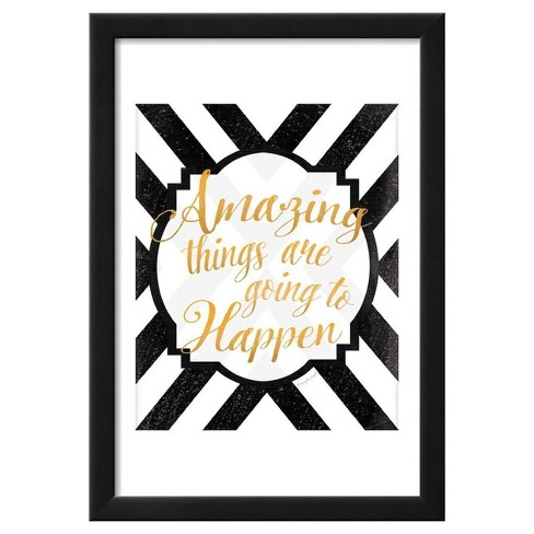 "Amazing Things by Jennifer Pugh Framed Poster 13""x19"" - Art.Com - image 1 of 4"