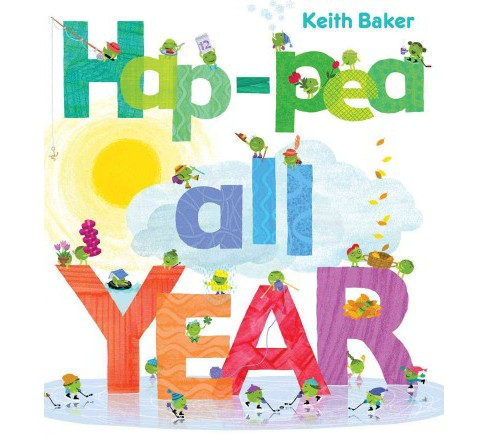 Hap-Pea All Year (School And Library) (Keith Baker) - image 1 of 1