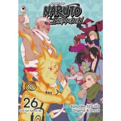 Naruto Shippuden: Box Set 26 (DVD)(2016)