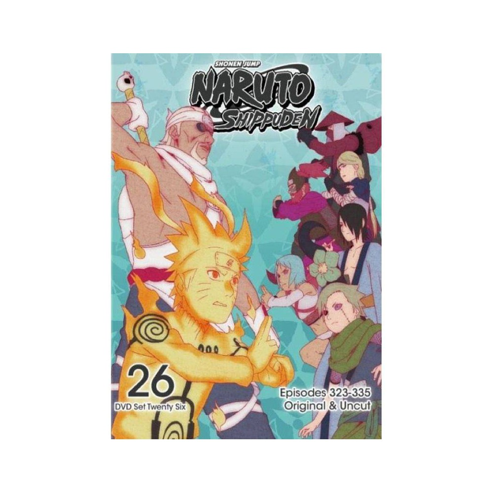 Naruto Shippuden Box Set 26 Dvd 2016