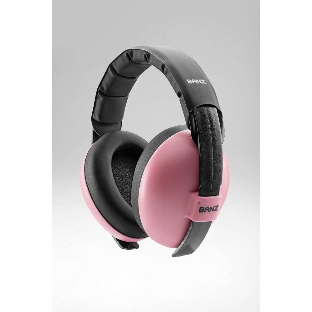 Image of Baby Banz Infant Hearing Protection Earmuffs - Baby Pink