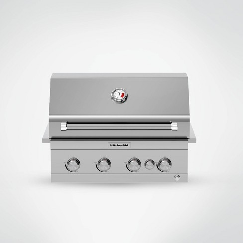 Kitchenaid 4 Burner Stainless Steel Gas Grill 740 0780 Silver
