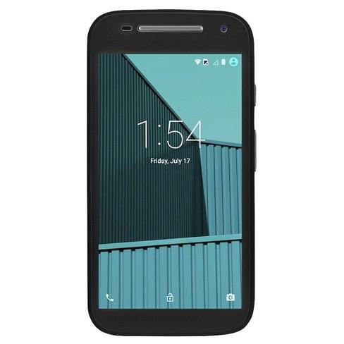 Unlocked Moto E LTE - FreedomPop - Black
