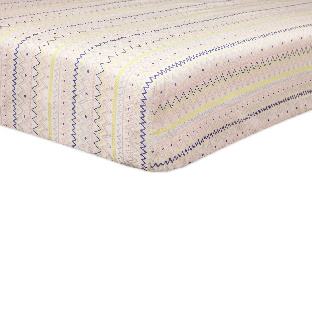 Image of Babyletto Desert Dreams Fitted Crib Sheet