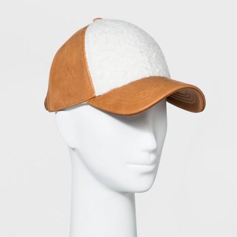 ddf4c89752c Women s Baseball Hat Sherpa - Universal Thread™ Yellow   Target