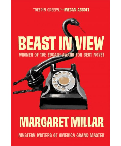 Beast in View -  by Margaret Millar (Paperback) - image 1 of 1