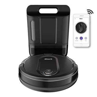 Shark IQ Self-Empty Robot Vacuum R100AE with Self-Empty Base, Wi-Fi, Home Mapping RV1001AE