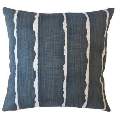 Canal Square Throw Pillow Navy - Pillow Collection