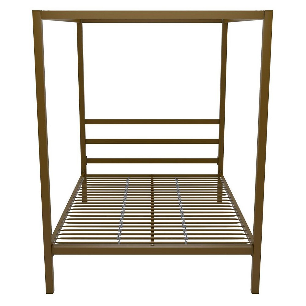 Modern Canopy Bed Full Gold - Dorel Home Products