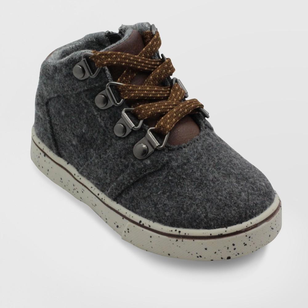 Toddler Boys' Booker Wool Mid Top Sneakers - Cat & Jack Gray 7