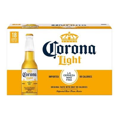 Corona Light Lager Beer - 18pk/12 fl oz Bottles