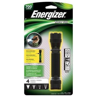 Energizer Rechargeable Tactical LED Light TAC-R 700 Black