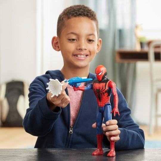 Marvel Spider-Man Titan Hero Series Blast Gear Action Figure image number null