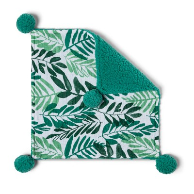 Security Blanket - Cloud Island™ Green/White