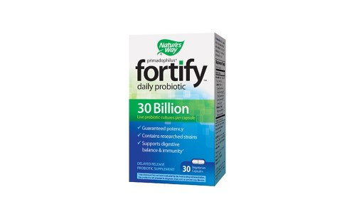 Nature's Way Fortify Daily Probiotic Capsules - 30ct - image 1 of 1