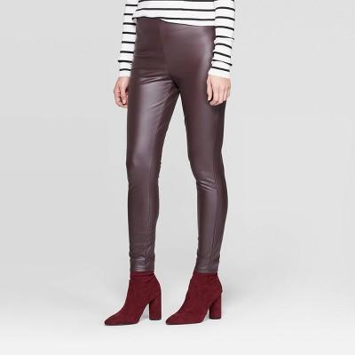 Next Black Stretch Ponte Thick Leggings Size 14 Reg n-78h