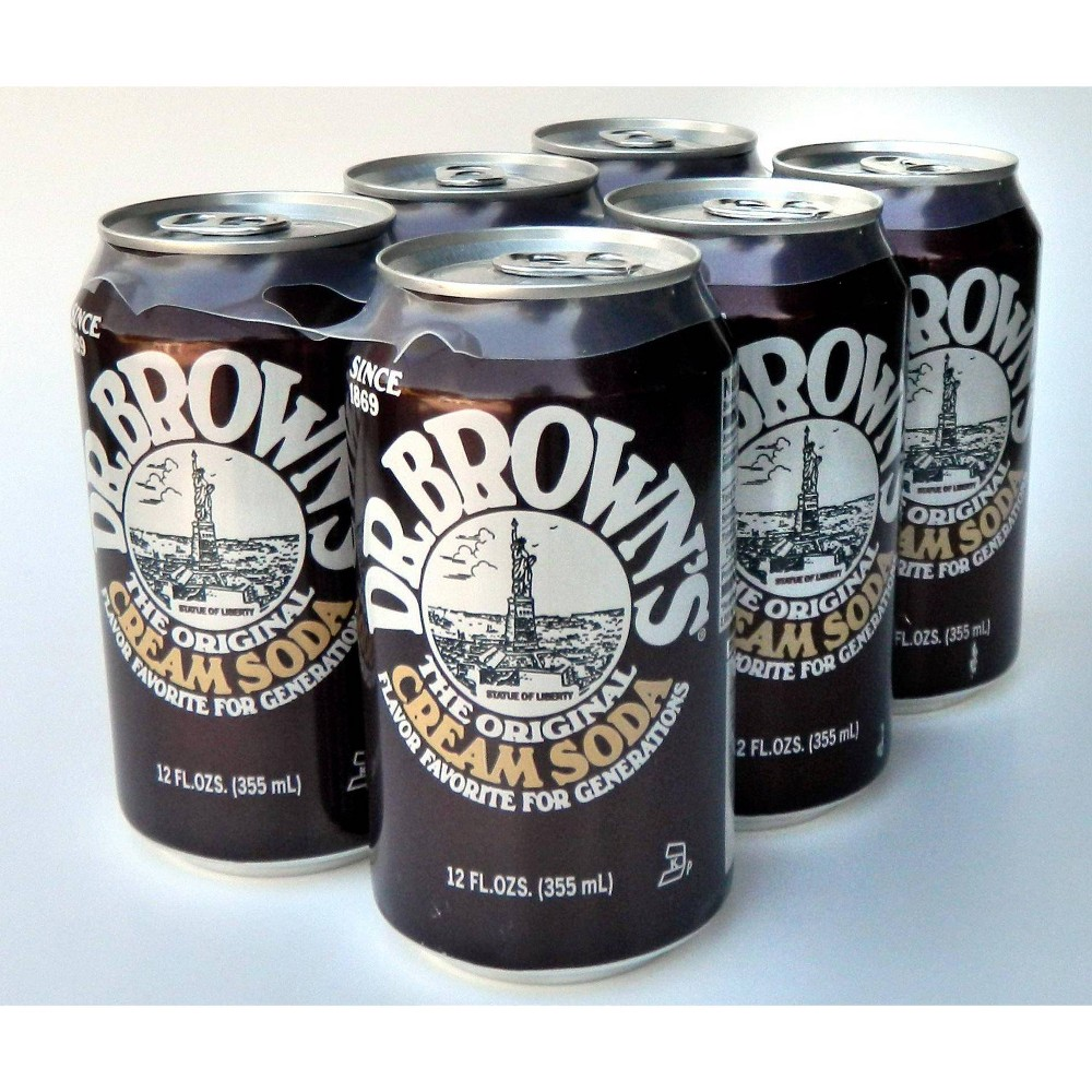 Dr Brown S The Original Cream Soda 6pk 72 Fl Oz