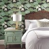 RoomMates Lily Pads Peel & Stick Wallpaper Black/Green - image 2 of 4