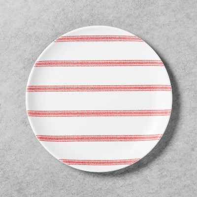 Salad Plate Melamine Americana Red Stripe - Hearth & Hand™ with Magnolia