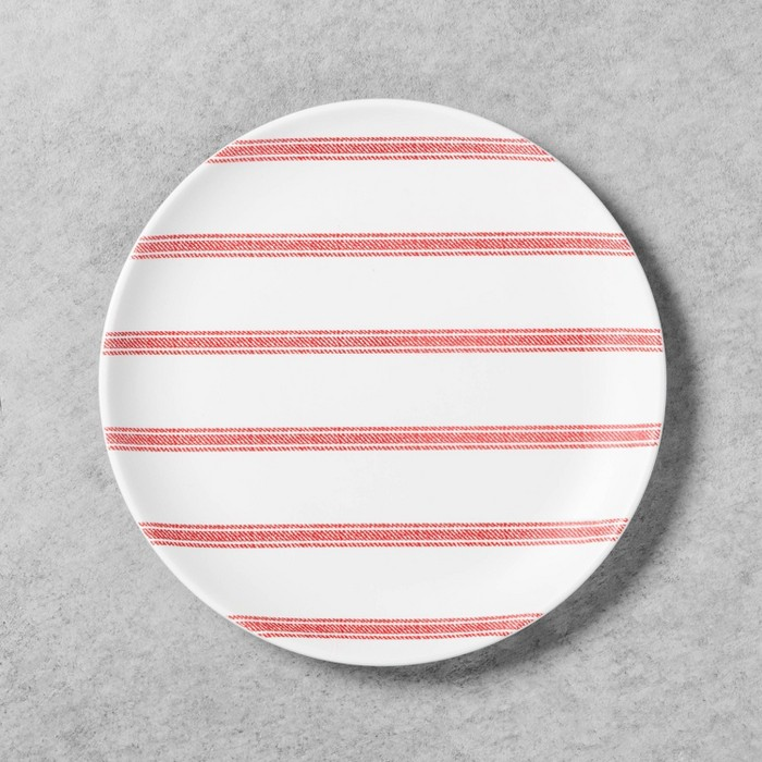 Salad Plate Melamine Americana Red Stripe - Hearth & Hand™ with Magnolia - image 1 of 2