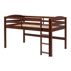 Solid Wood Low Loft Twin Bed - Saracina Home