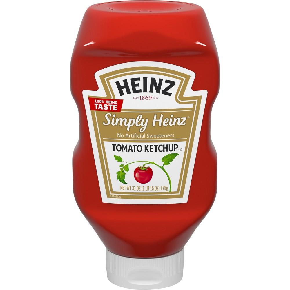 Heinz Simply Heinz Tomato Ketchup - 31oz