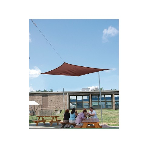 Shelter Logic Sun Shade Sail Square Canopy Target