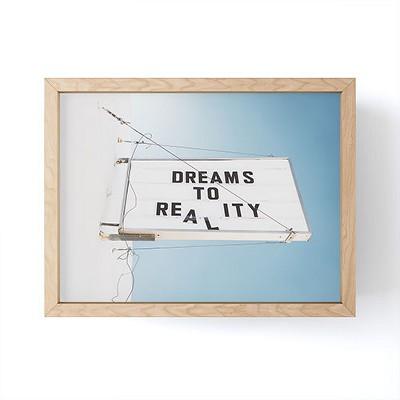 Bethany Young Photography Dreams to Reality Framed Mini Art - Society6