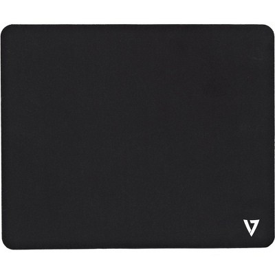 """V7 Antimicrobial Mouse Pad - 7.09"""" x 8.66"""" Dimension - Polymer Surface, Natural Rubber - Anti-slip, Odor Resistant, Stain Resistant"""