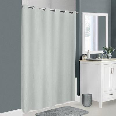 Norwalk Seersucker Insta Curtain Shower Curtain - Zenna Home