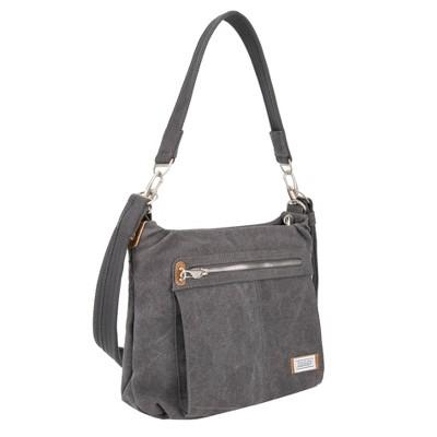 Travelon RFID Anti-Theft Heritage Hobo Bag - Gray
