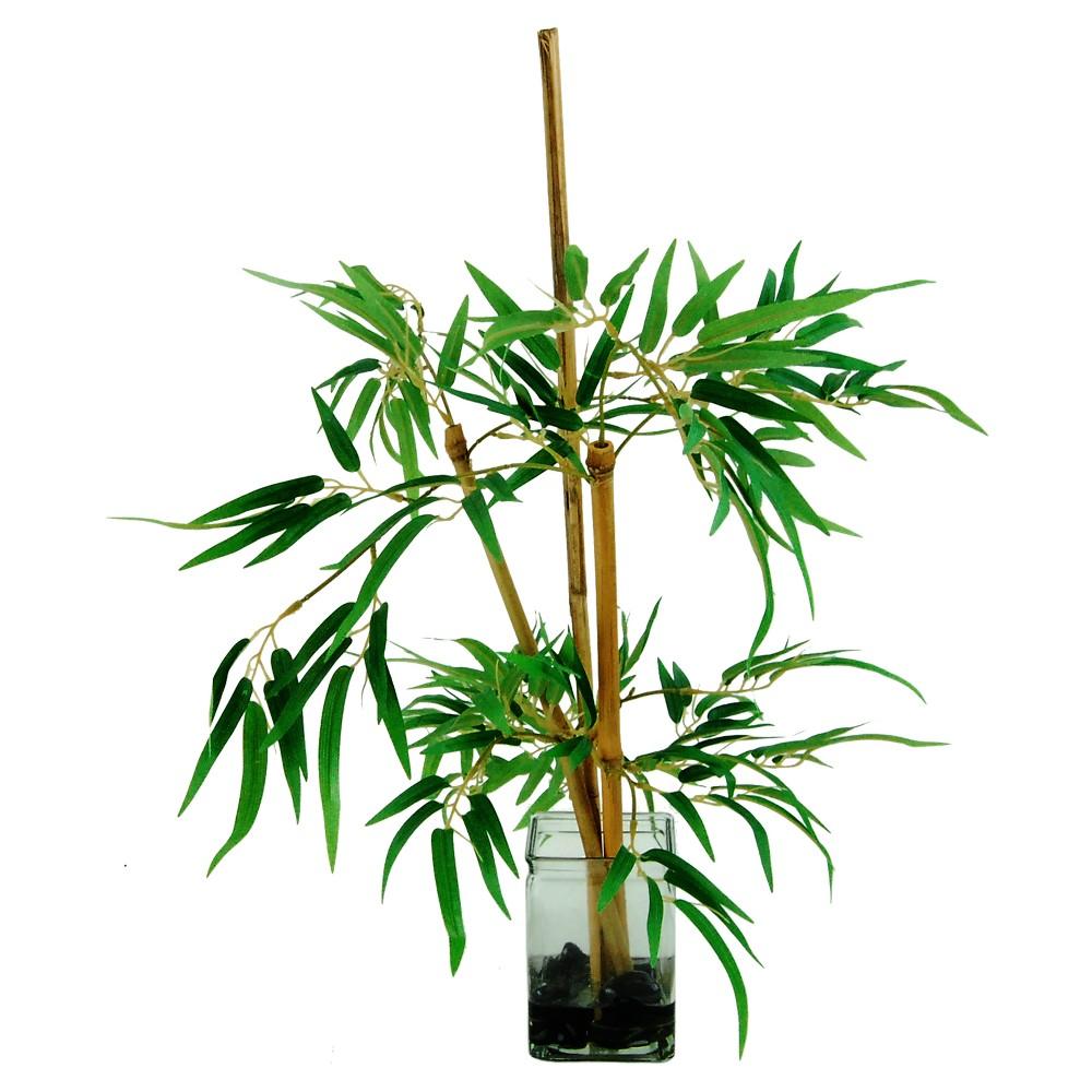 Image of Artificial Bamboo Arrangement Green 26 - Lcg Florals
