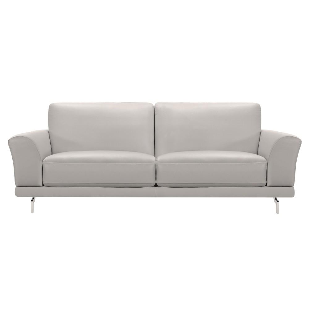 Armen Living Everly Contemporary Sofa Dove Gray