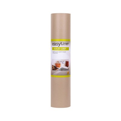 """Duck Solid Grip EasyLiner Non Adhesive Wire Shelf Liner, 20"""" x 22' Taupe"""