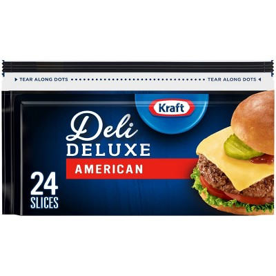 Kraft Deli Deluxe American Cheese Slices - 16oz/24ct